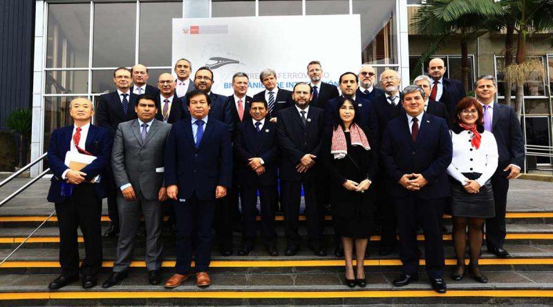 Perú, Bolivia, Brasil y Paraguay promoverán Corredor Ferroviario Bioceánico