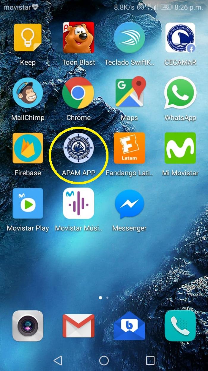 app en phone