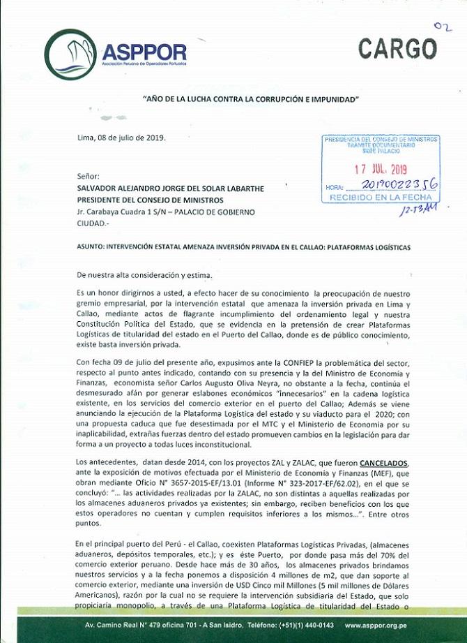 Oficio Asspor - Consejo Ministros_Página_1