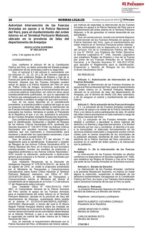 Matarani 1794198-1