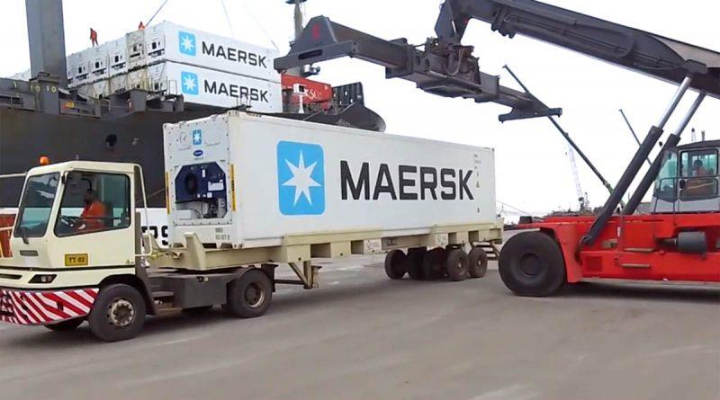 Terminal Portuario General San Martin inicio operaciones de contenedores