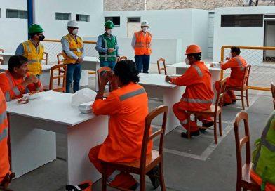 Terminal portuario de Matarani implemento nuevo comedor al servicio sus trabajadores